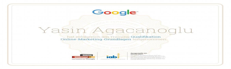 Google Digital Workshop Zertifikat