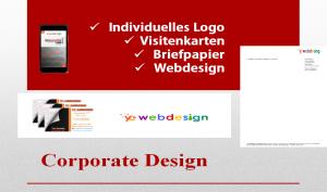 Corporate Design Paket für Existenzgründer